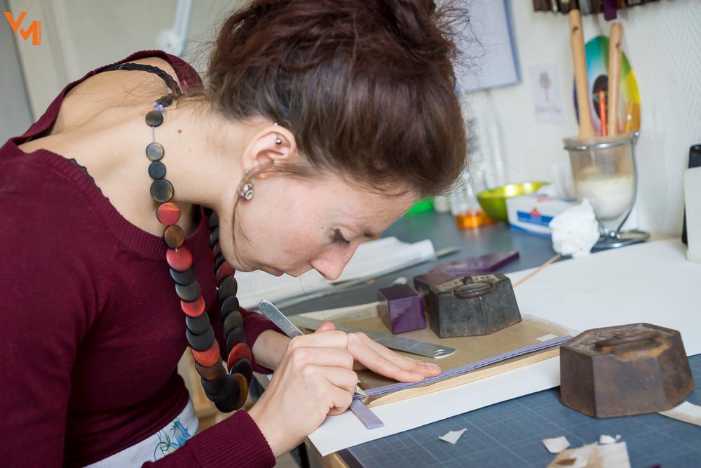 Visite atelier Camille Aubert
