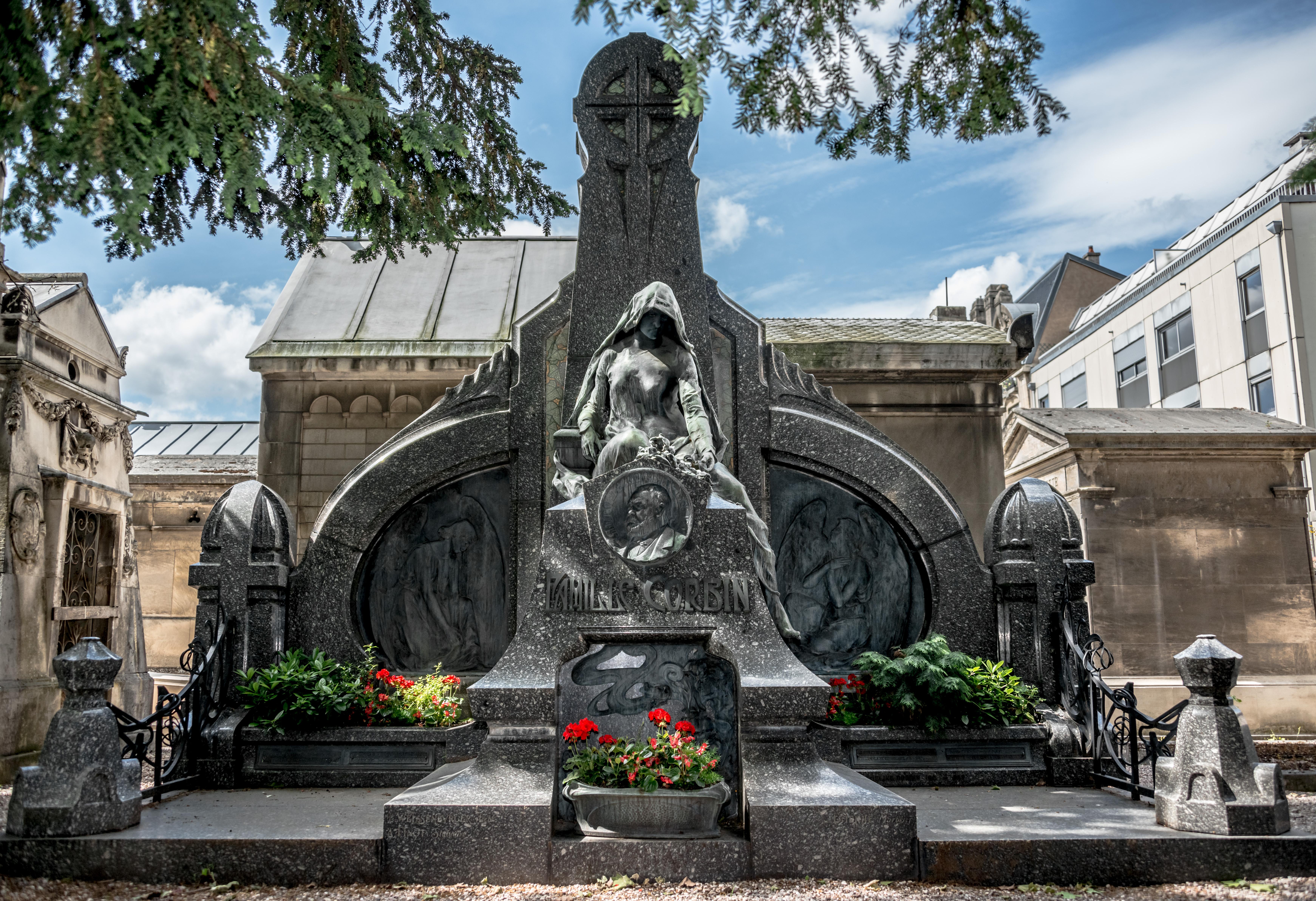 le cimetière de Préville